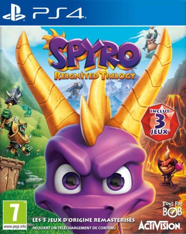Spyro cover ps4