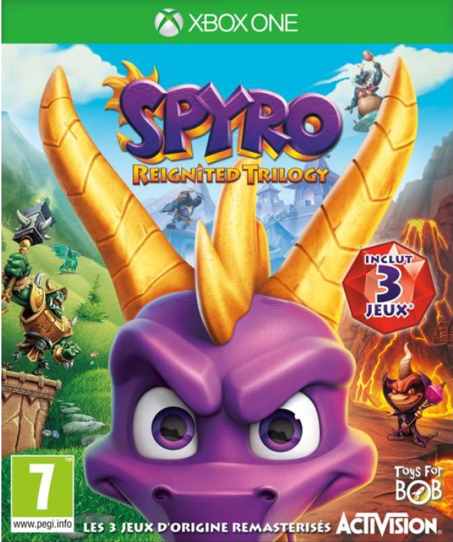 Spyro cover xbox